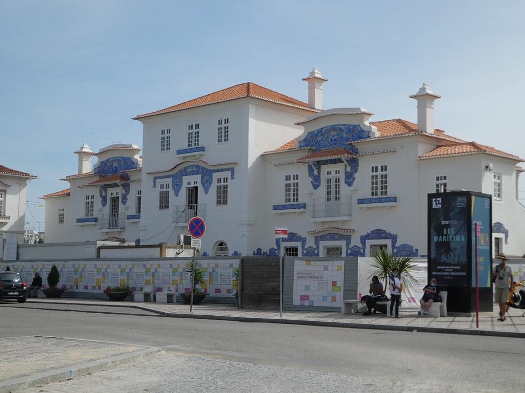 Aveiro old railway station