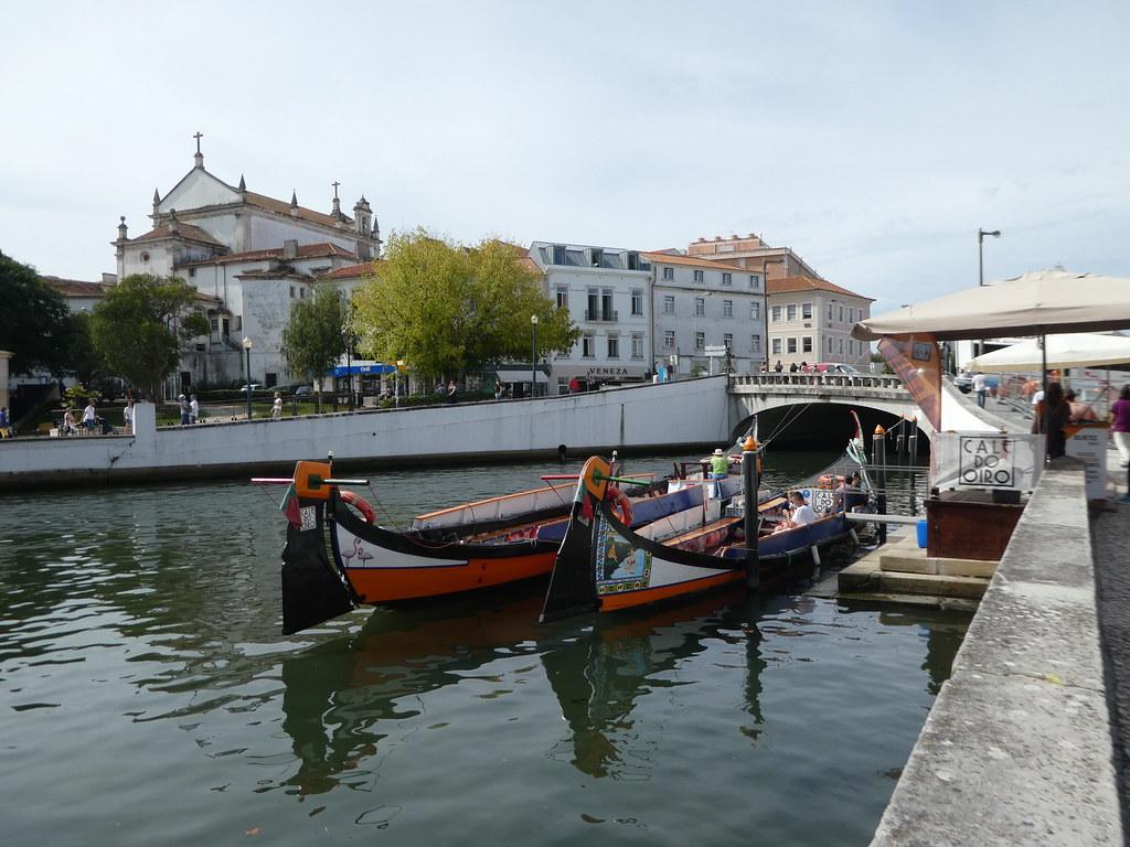 Moliceiros boats in Aveiro