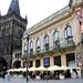 Prague : la Tour-poudrière et la Maison municipale