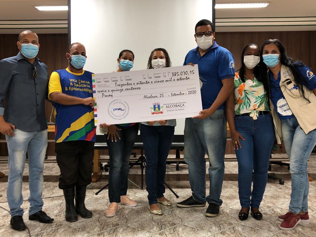 Pagamento da gratificação do PMAQ-AB aos profissionais de saúde do município de Alcobaça (9)