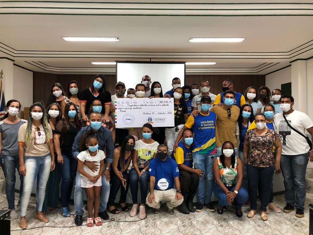 Pagamento da gratificação do PMAQ-AB aos profissionais de saúde do município de Alcobaça (2)