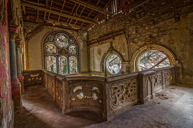 Abandoned Castle in Serbia