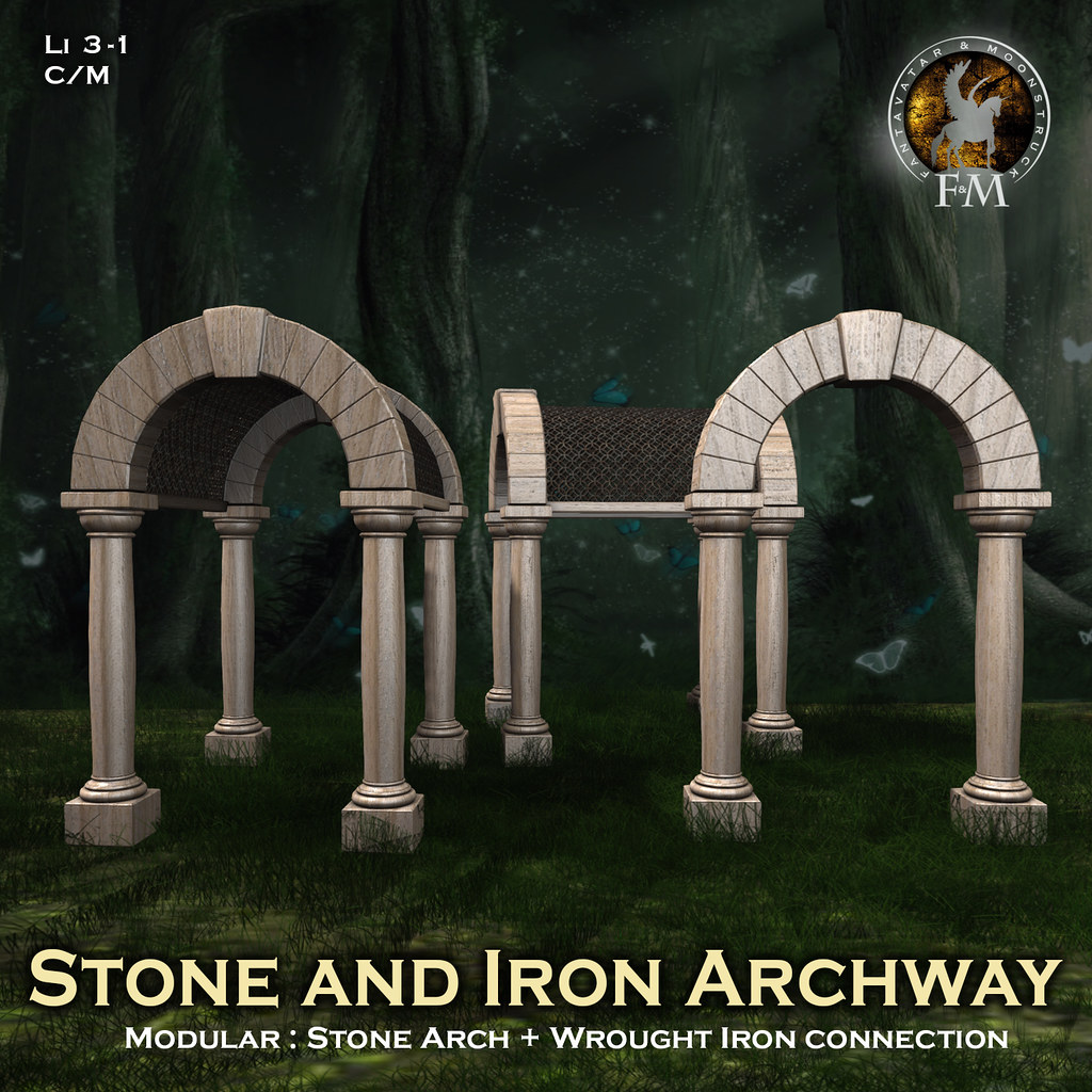 F&M * Stone and Iron Archway @SL Renaissance Festival