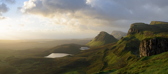 Quiraing morning light