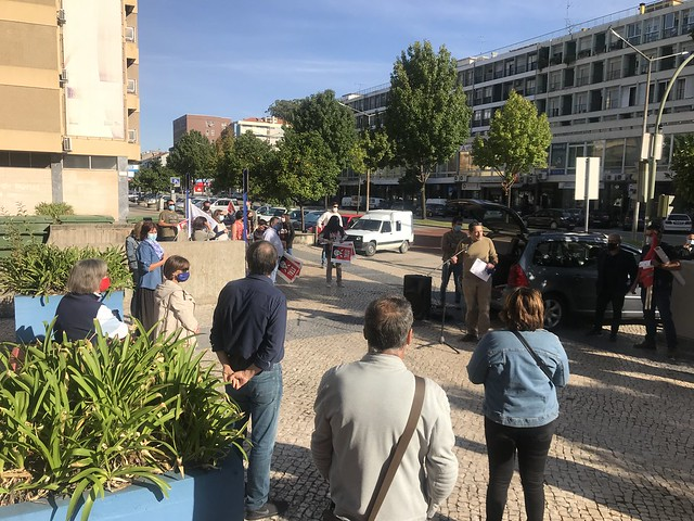 Coimbra - Acção de Luta Nacional - 26 Setembro