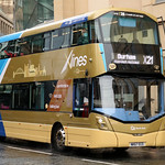 Go North East: 6309 NK67ECE Volvo B5TL/Wright Eclipse Gemini 3