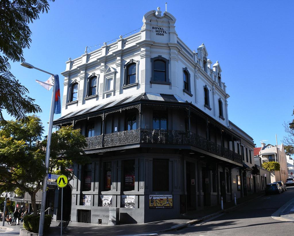 Royal Hotel, Paddington, Sydney, NSW.