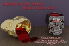 Blood if thy Enemy Skull cup - Sanarea exclusive