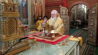 26.09.2020 | Литургия в Иверском монастыре