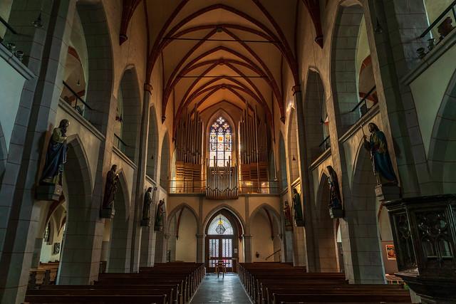 inside St. Peter church