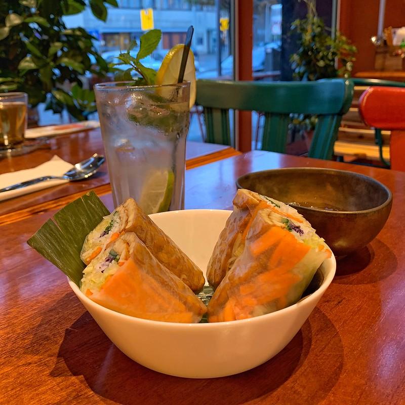 Vegan Vietnamese Rolls