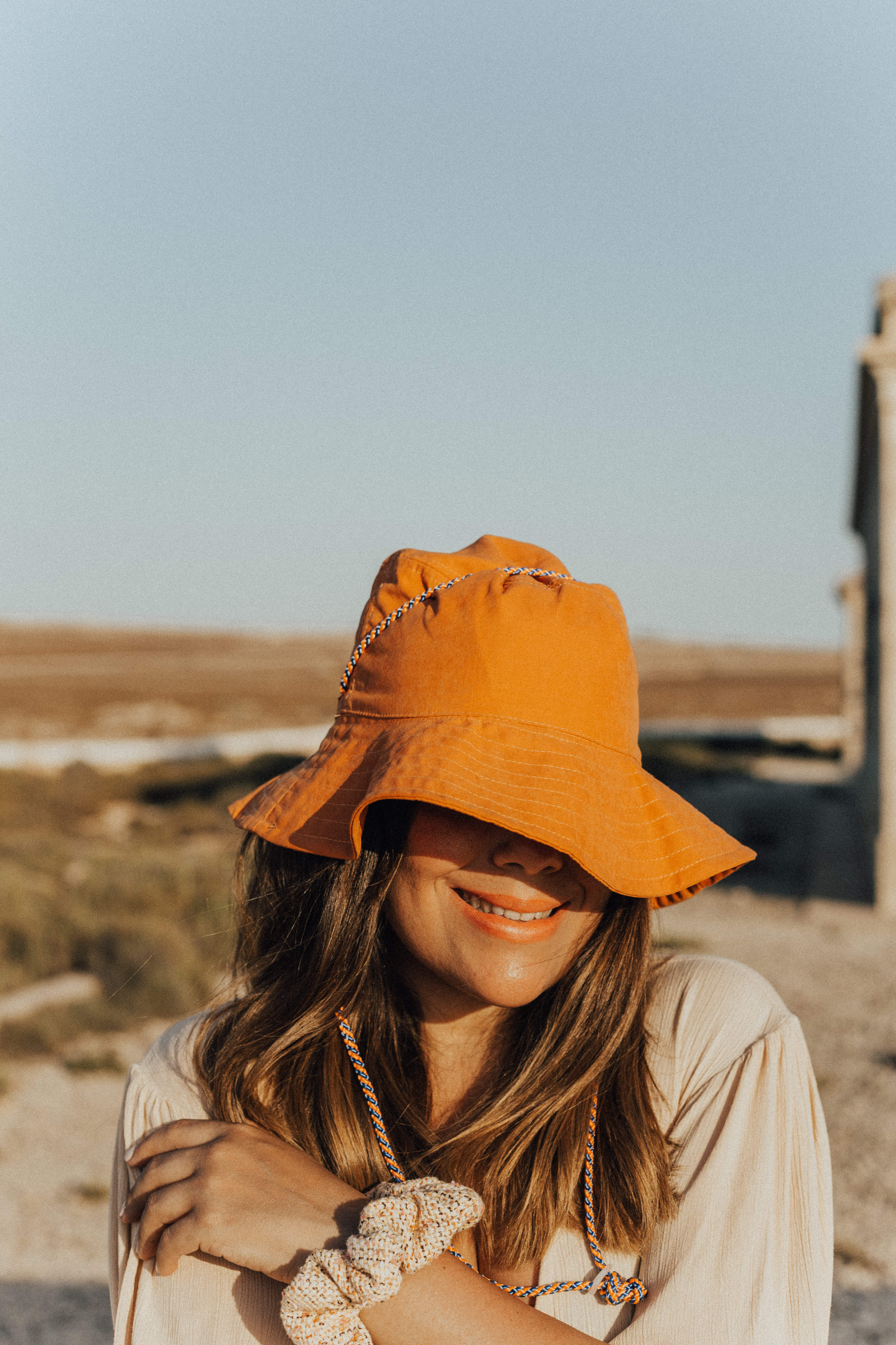 gorro bucket de Zara _outfit