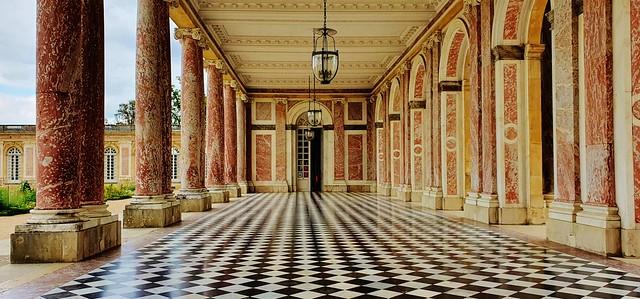 Le Trianon en perspective