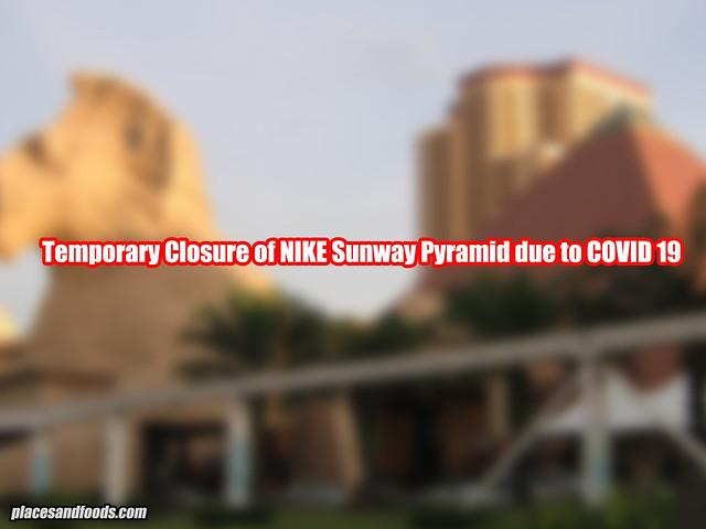 sunway pyramid nike closure