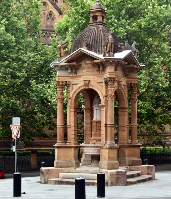 Frazer Memorial Fountain, Sydney, Australia.