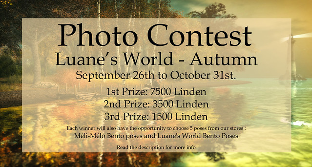 Photo contest Luane's World Autumn 2020