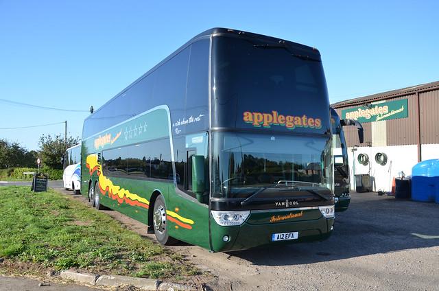 Applegates Coaches A12 EFA, Berkeley