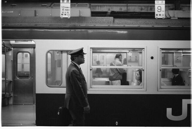とある千葉駅の風景