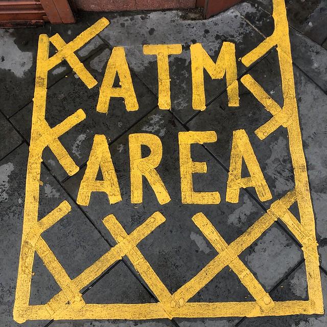 ATM area
