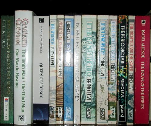Primo Levi Books