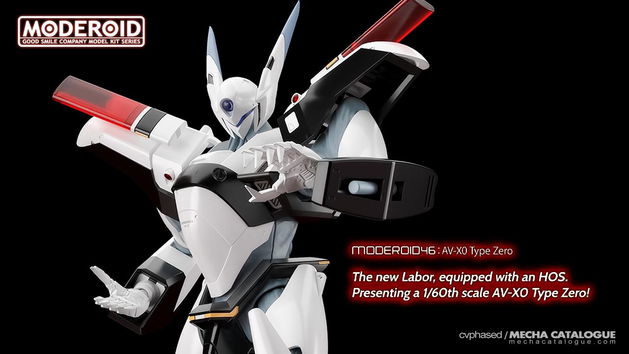 What Would Be Next? MODEROID AV-X0 Type Zero
