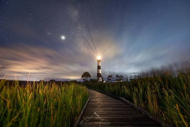 Bodie Island Lighthouse under the Milky Way