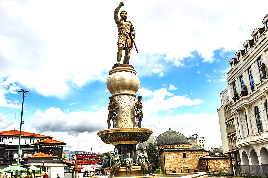 Philip II of Macedon on 9-26-20--Skopje