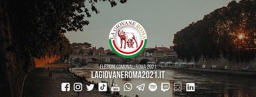 """ROMA ARCHEOLOGICA & RESTAURO ARCHITETTURA 2020. Corsa al Campidoglio, il primo sfidante di Raggi ha 20 anni,  Federico Lobuono: la """"Giovane Roma"""" LA REPUBBLICA (26/09/2020). Nota: Sindaca Raggi, ha il latte in faccia."""