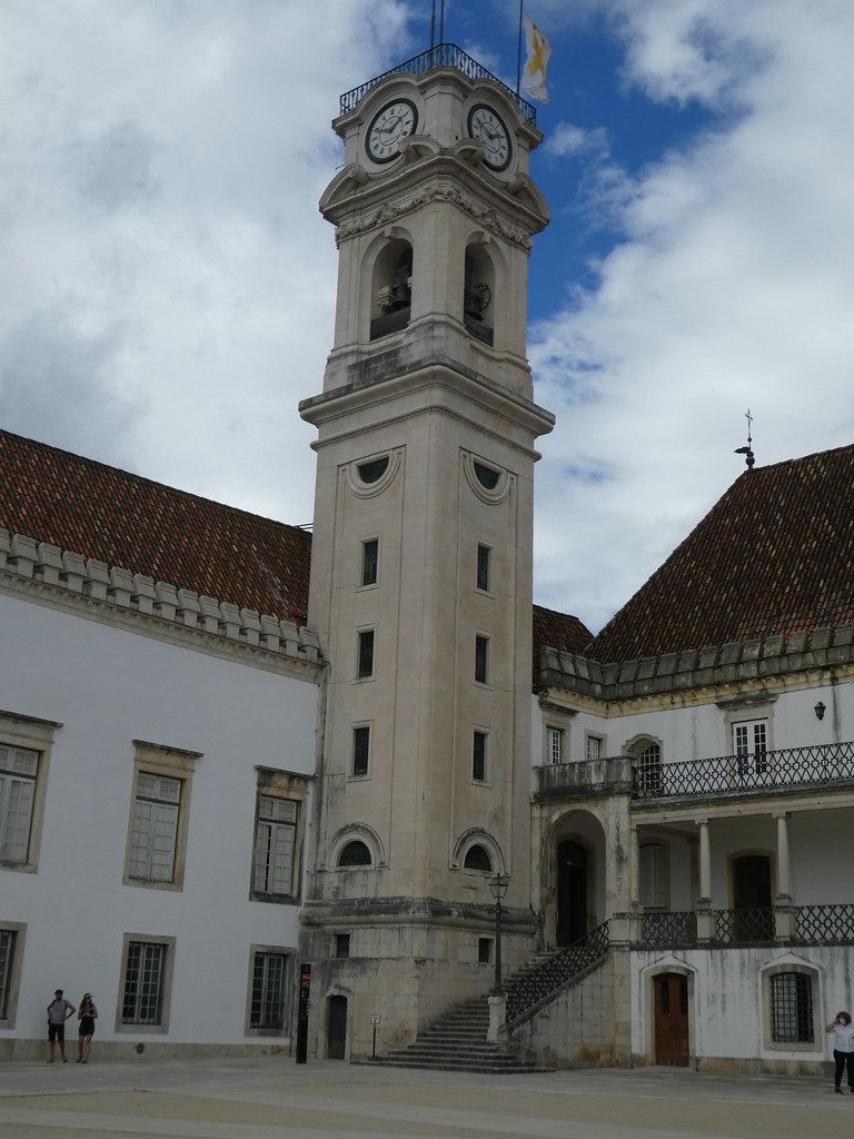 Clock tower, University of Coimbra