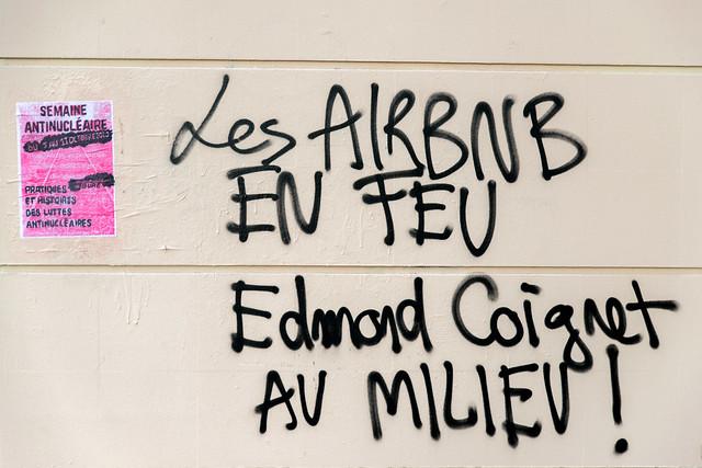 Occupation de la rue Saint Marthe par le mouvement Youth For Climate France