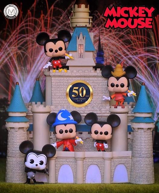 Disney Archives Mickey's 50th Anniversary