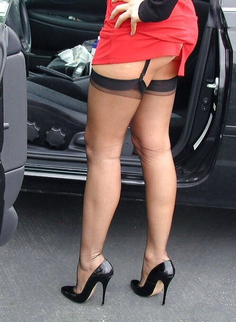 Great Legs in Stockings