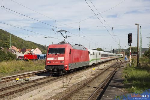 101 122 + ICE 2 . 95594 . Großheringen . 19.09.20.