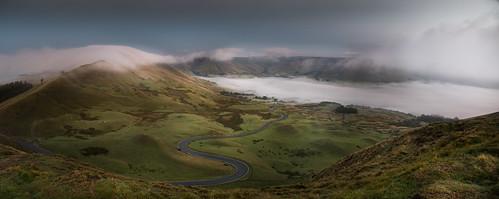 rushup edale derbyshire mamtor mist fog cloud inversion peakdistrict