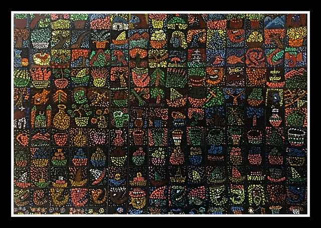 165 Miniature Paintings on a Single A4 size paper card