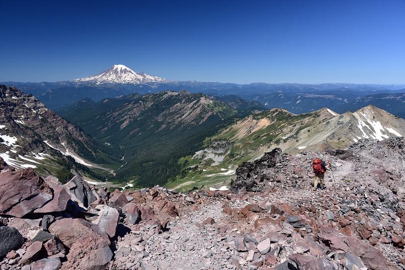 View of Mt. Rainier