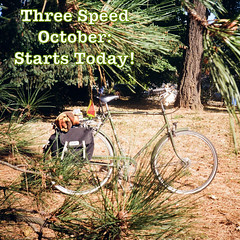 "Hello Flickr peoples! I don't do much in the way of ""social media"" here anymore. But I wanted to let you know that the Three Speed October Challenge is underway! From now until November 1st. Click ""descrip"" for more."