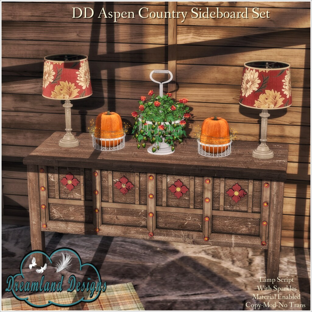 DD Aspen Country Sideboard AD