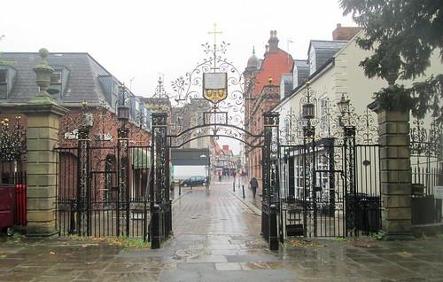 Gates of Gates to Church of St Giles, Wrexham