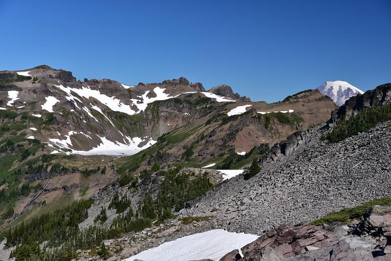Goat Lake and Mt. Rainier
