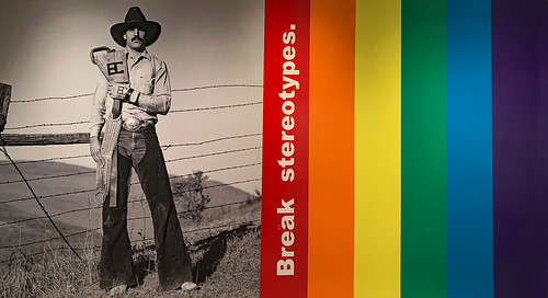 americanart jamesmuseum stpetersburg florida blakelittle photography gay gayrodeo cowboy rainbow