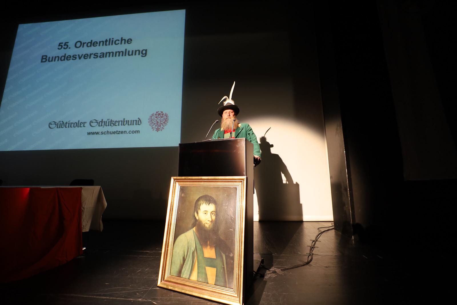 55. Bundesversammlung des SSB in Bozen, 26.09.2020
