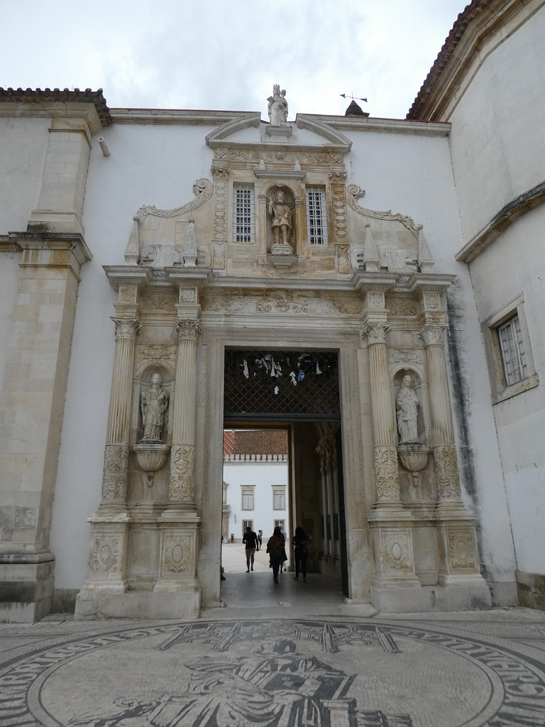 University of Coimbra entrance gate