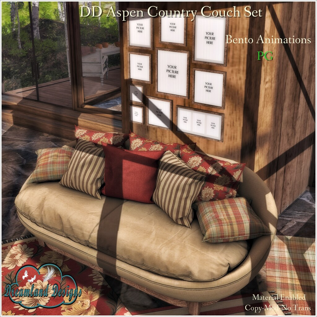 DD Aspen Country Couch PG AD