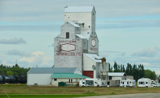 Day 3 -  Melfort SK to The Pas MB - Nipawin grain elevator
