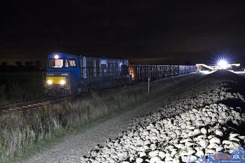V 207 , 273 101 .  RTB Cargo . ( Bahnlinie Euskirchen Düren) Binsfeld . 25.09.20.