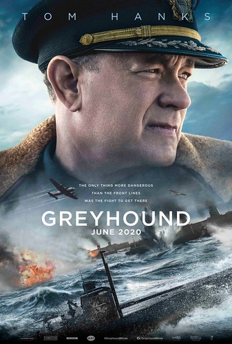 Greyhound. Cartel de la Película