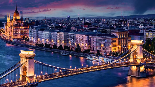Budapest View from Gellerthegy, Hungary