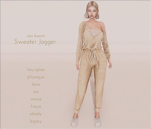 -siss boom-sweater jogger gg