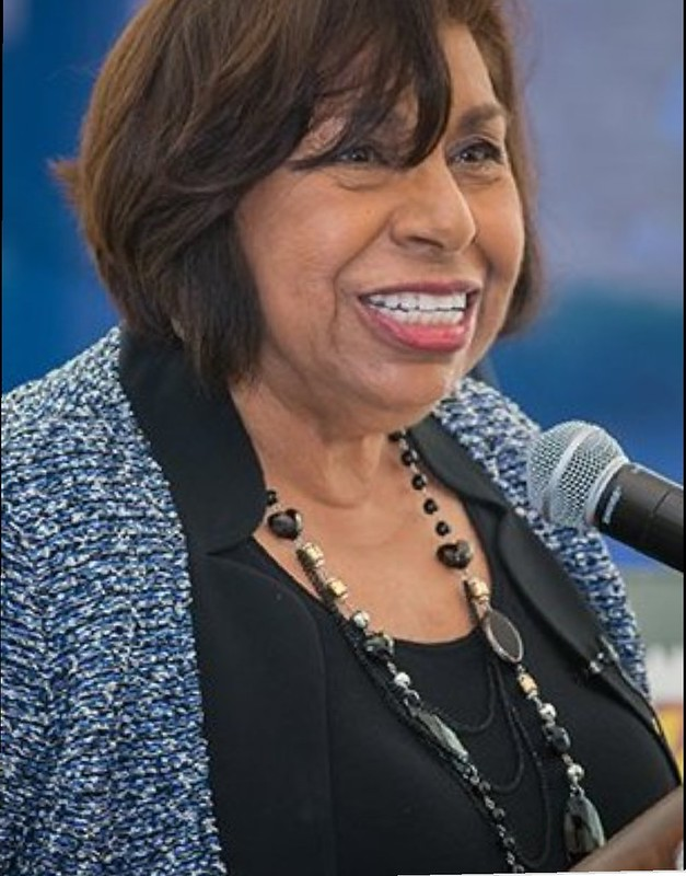 Sylvia Mendez, American Civil Rights Activist of Mexican-Puerto Rican heritage.